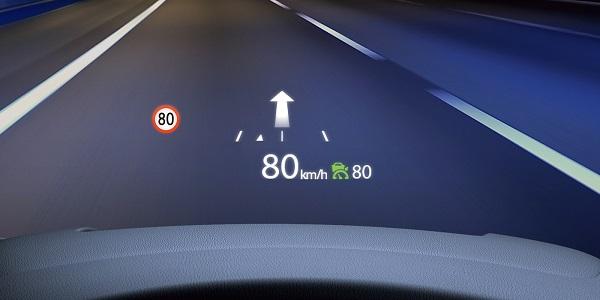 CX-5の交通標識認識システム