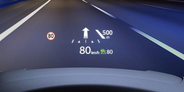 CX-8の交通標識認識システム