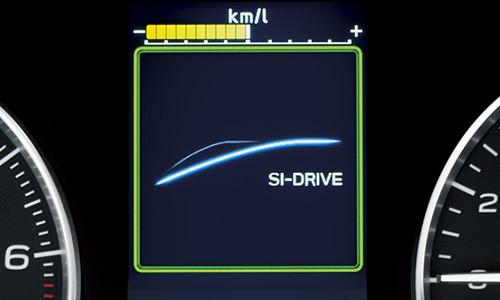 スバルXVのSIドライブモード