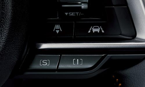 スバルXVのステアリングスイッチ