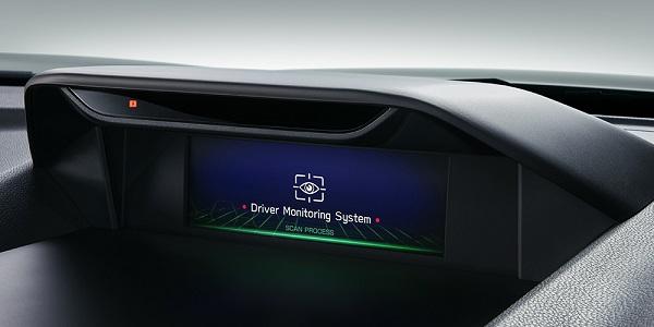 フォレスターのドライバーモニタリングシステム1