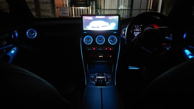 メルセデスベンツ AMGの内装