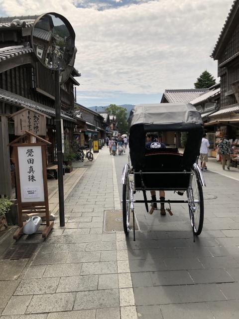 伊勢神宮の参道