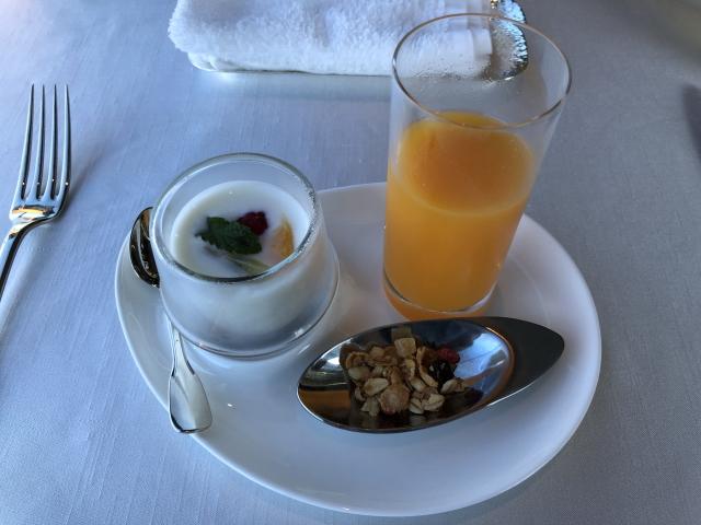 ラグーナベイコートの朝食