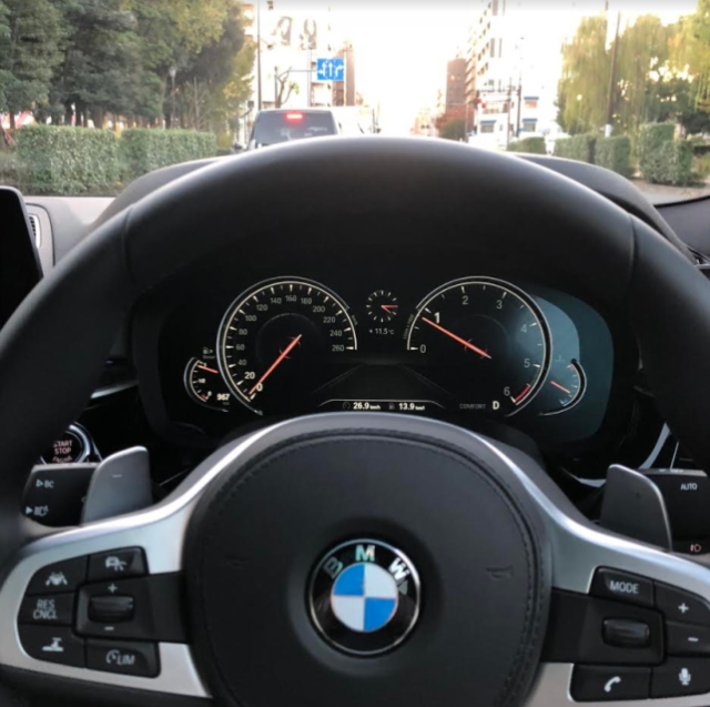 BMW 5シリーズのメーター類
