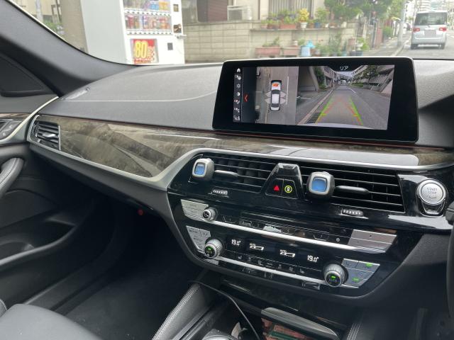 BMW 5シリーズの内装