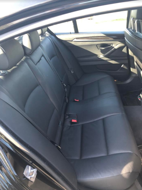 BMW 5シリーズのインテリア