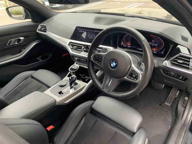 BMW 3シリーズの内装
