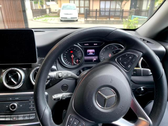 BMW CLAシューティングブレークの内装
