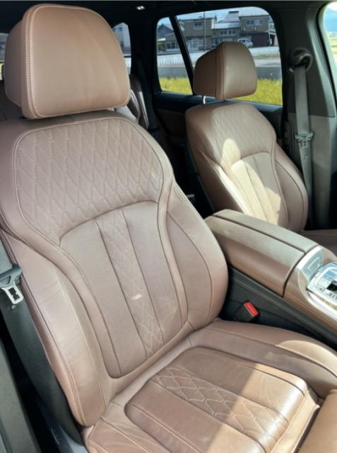BMW X5の内装