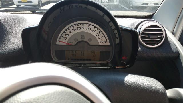 フォーツークーペのスピードメーター